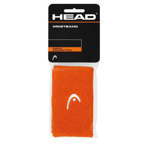 HEAD 5 Inch Double Wristband (Orange)