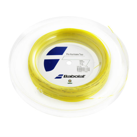 Babolat Pro Hurricane Tour 16 Tennis String Mini Reel (Yellow) - RacquetGuys