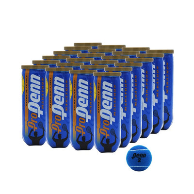 Pro Penn Marathon Extra Duty Tennis Balls Blue 24 Can Case