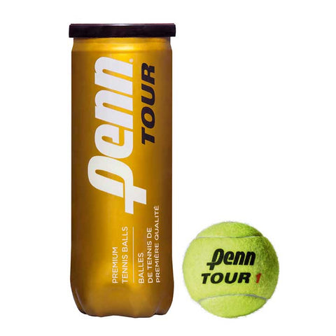 Penn Tour Extra Duty Tournament Select Tennis Balls - RacquetGuys