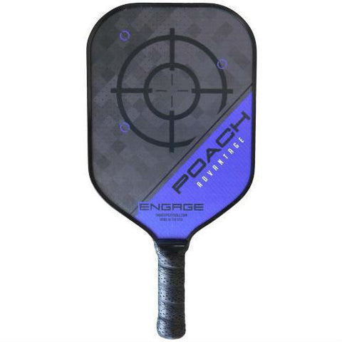 Engage Poach Advantage Pickleball Paddle (Purple) - RacquetGuys