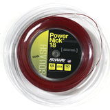 Ashaway PowerNick 18 Squash String Mini Reel (Red) - RacquetGuys