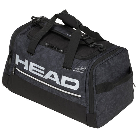 Head Djokovic Duffle Bag (Black/White) - RacquetGuys.ca