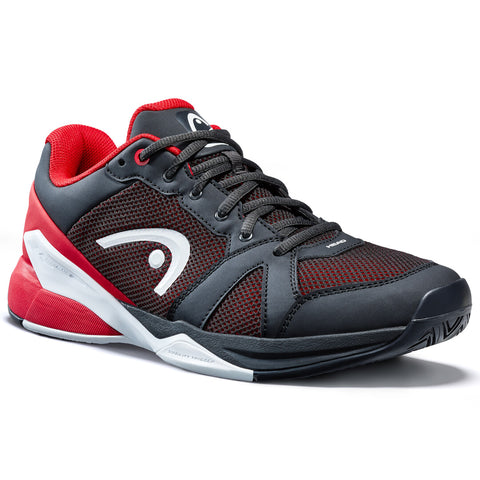 Head Revolt Evo Men's Tennis Shoe (Black/Red/White)