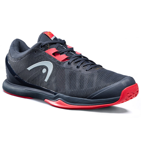 Head Sprint Pro 3.0 Men's Tennis Shoe (Navy/Red) - RacquetGuys