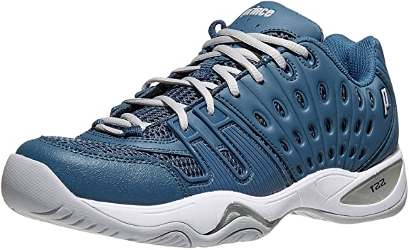 Prince T22 Men's Tennis Shoe (Navy/Grey) - RacquetGuys.ca
