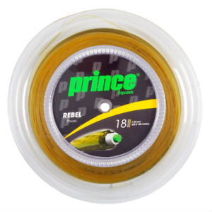 Prince Rebel Power 18 Squash String Mini Reel (Gold) - RacquetGuys