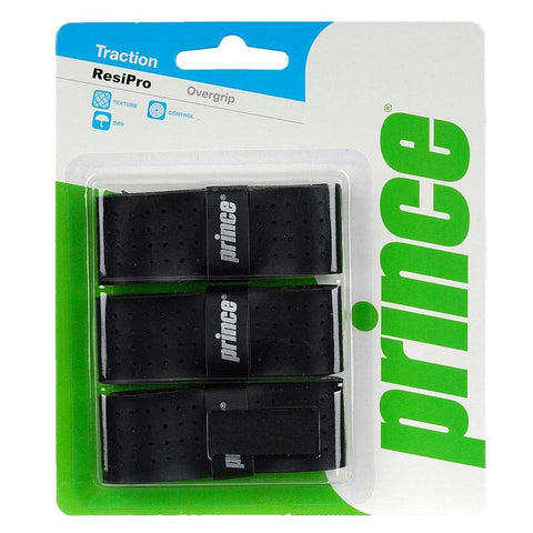 Prince ResiPro Overgrips 3 Pack (Black)