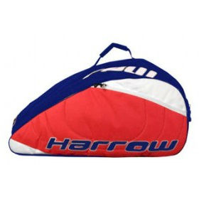 Harrow Pro Squash 12 Pack Racquet Bag (Red) - RacquetGuys