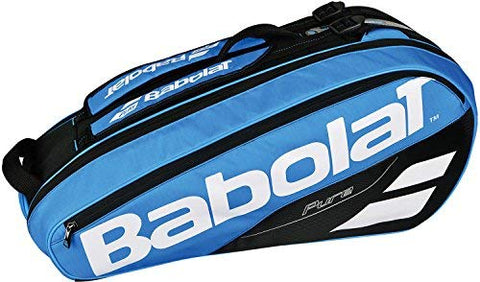 Babolat Pure Drive 6 Pack Racquet Bag (Blue) - RacquetGuys