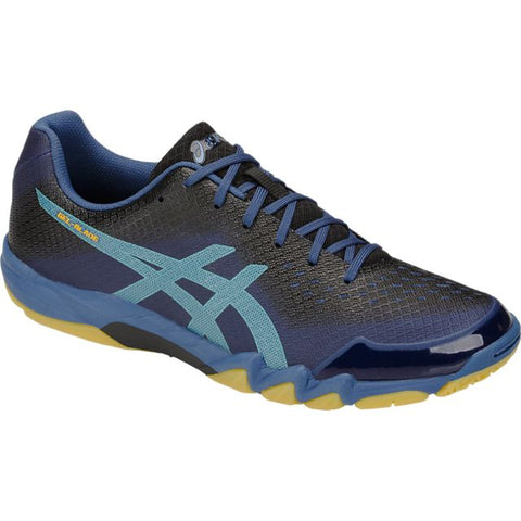 Asics Gel Blade 6 Mens Indoor Court Shoe (Blue/Light Teal)