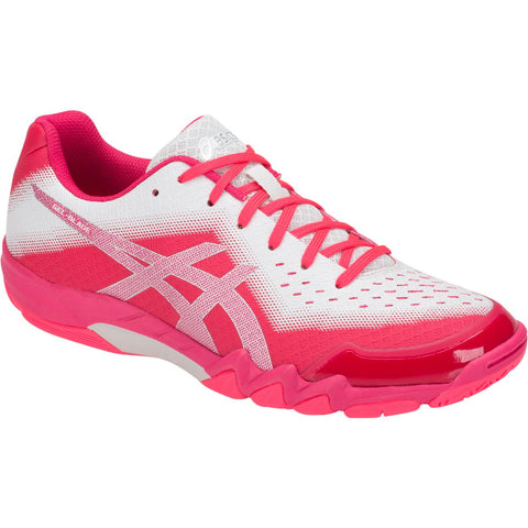 Asics Gel Blade 6 Womens Indoor Court Shoe (Diva Pink/Silver) - RacquetGuys