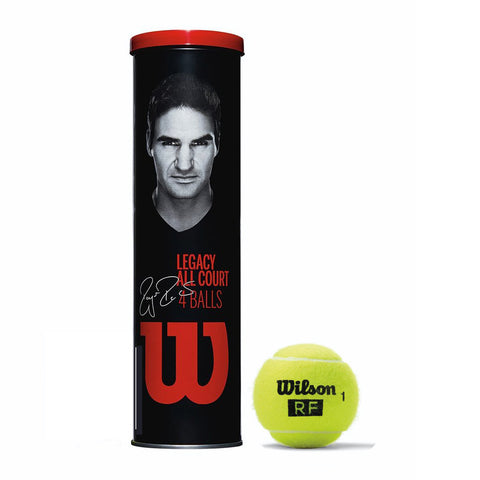 Wilson Roger Federer Legacy Tennis Ball All Court - RacquetGuys