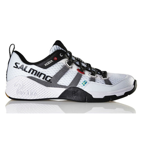 Salming Kobra Womens Indoor Court Shoe (White) - RacquetGuys.ca