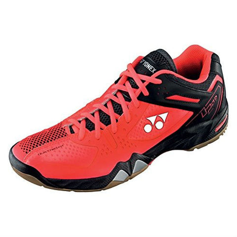 Yonex SHB 02 Limited Mens Indoor Court Shoe (Red/Black) - RacquetGuys