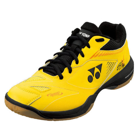 Yonex Power Cushion 65 X2 Men's Indoor Court Shoe (Yellow) - RacquetGuys
