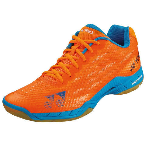 Yonex Power Cushion Aerus Men's Indoor Court Shoe (Orange) - RacquetGuys