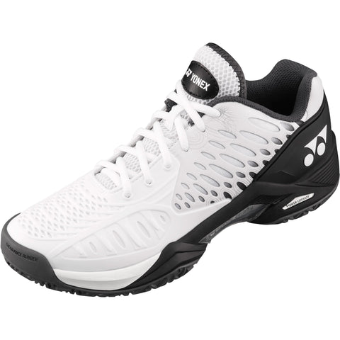 Yonex Power Cushion Eclipsion Mens Tennis Shoe (White/Black) - RacquetGuys
