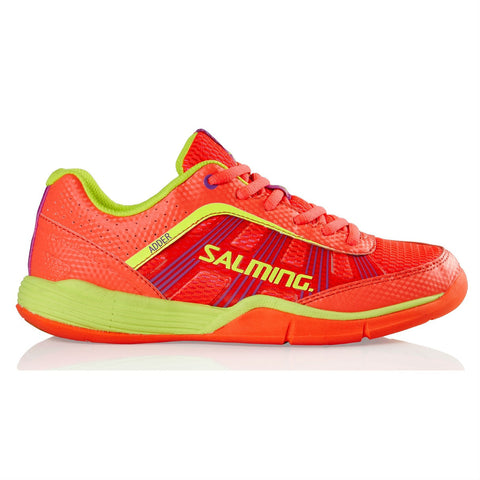 Salming Adder Womens Indoor Court Shoe (Pink/Yellow) - RacquetGuys