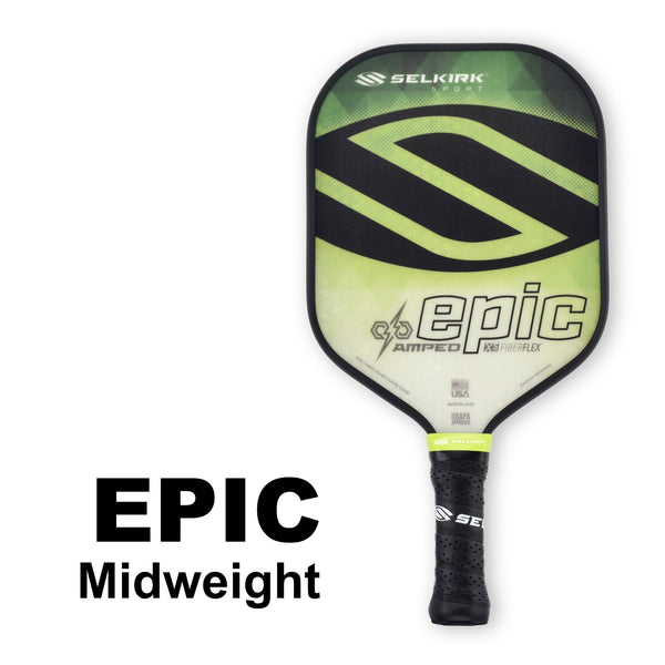 Selkirk Amped Epic Midweight (Green) - RacquetGuys