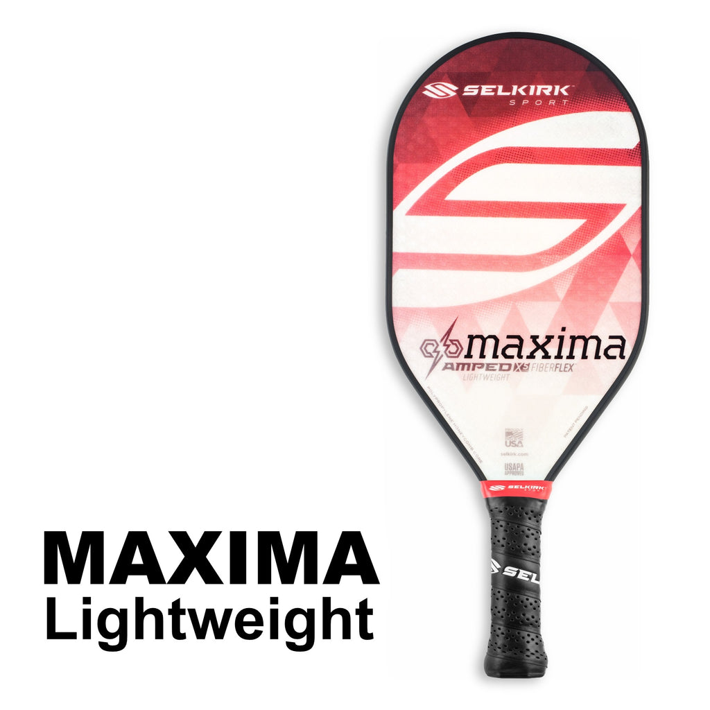 Selkirk Amped Maxima Lightweight (Red) - RacquetGuys.ca