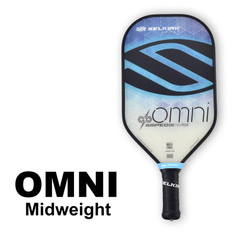 Selkirk Amped Omni Midweight (Blue) - RacquetGuys.ca