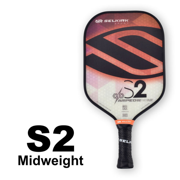 Selkirk Amped S2 Midweight (Orange) - RacquetGuys