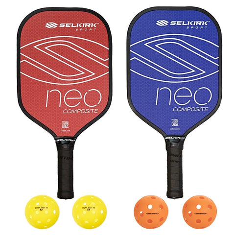 Selkirk Neo Composite 2 Paddle Pickleball Bundle - RacquetGuys