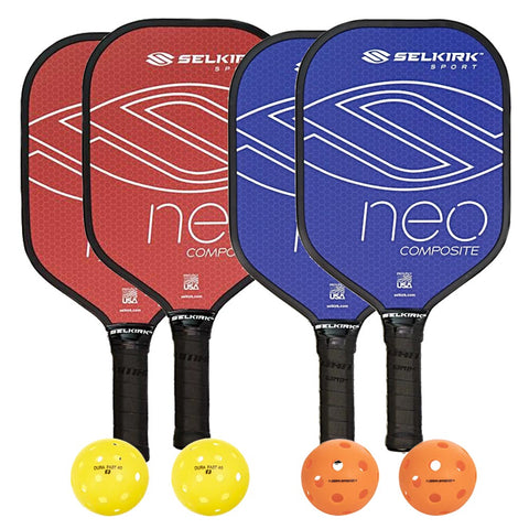 Selkirk Neo Composite 4 Paddle Pickleball Bundle - RacquetGuys.ca