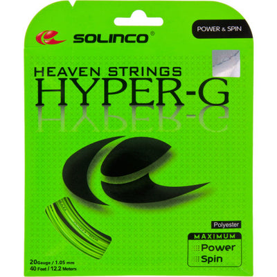 Solinco Hyper-G 20 Tennis String (Green)