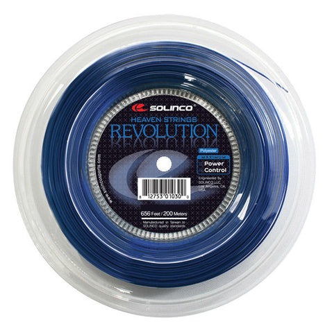 Solinco Revolution 17 Tennis String Reel (Blue)