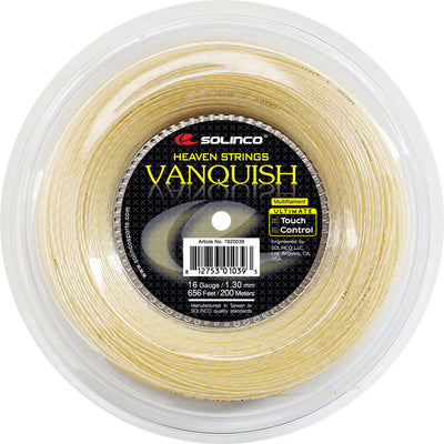 Solinco Vanquish 16 Tennis String Reel (Natural)