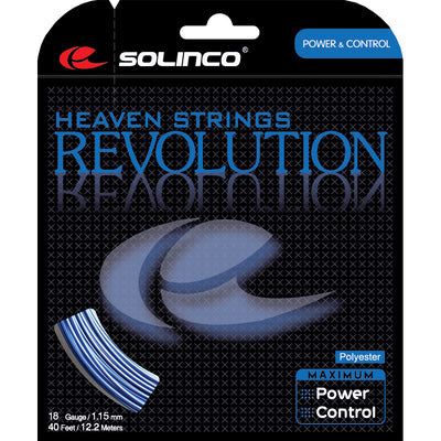 Solinco Revolution 18 Tennis String (Blue)