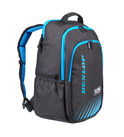 Dunlop PSA Backpack Racquet Bag (Black/Blue) - RacquetGuys