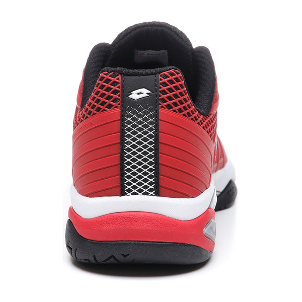 Lotto Viper Ultra IV Speed Men's Tennis Shoe (Red/Black) - RacquetGuys