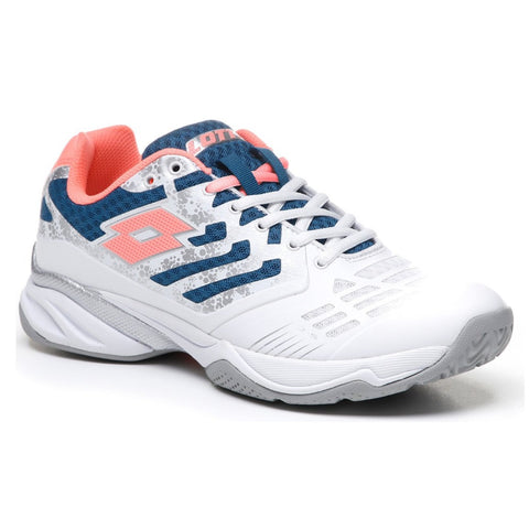 Lotto Ultrasphere II All Around Women's Tennis Shoe (White/Green)