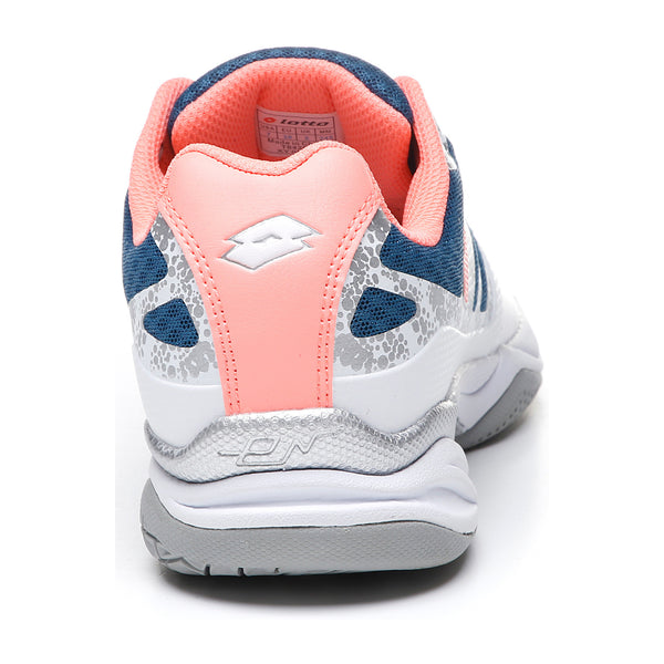 Lotto Ultrasphere II All Around Women's Tennis Shoe (White/Blue/Pink)