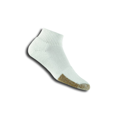 Thorlo TMX Mini-Crew Unisex Sock (White) - RacquetGuys