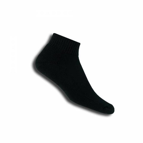 Thorlo TMX Mini-Crew Unisex Sock (Black) - RacquetGuys.ca