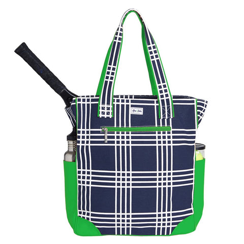Ame & Lulu Emerson Parker Plaid Tennis Tote