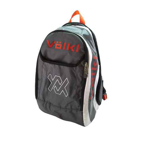 Volkl Tour Backpack Racquet Bag (Charcoal/White/Lava) - RacquetGuys.ca