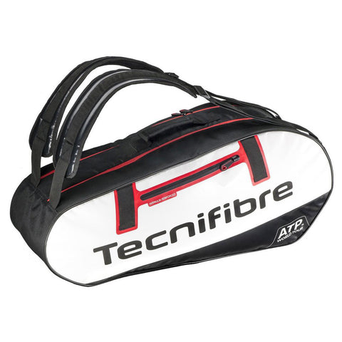 Tecnifibre ATP Endurance 10 Pack Racquet Bag (Black/White/Red) - RacquetGuys
