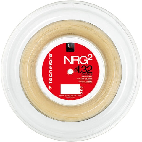 Tecnifibre NRG2 18 Tennis String Reel (Natural)