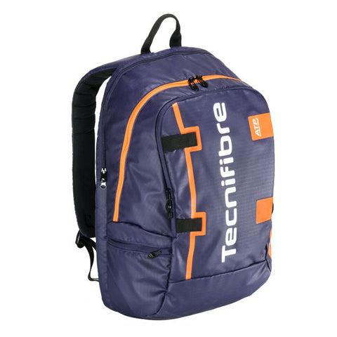 Tecnifibre ATP RackPack Backpack Racquet Bag (Blue/Orange) - RacquetGuys