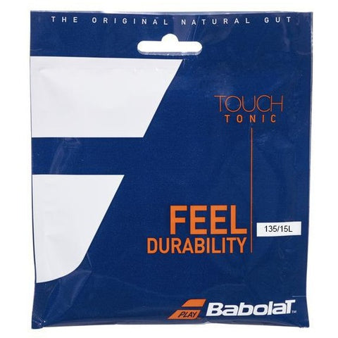 Babolat Touch Tonic 15L Tennis String (Natural) - RacquetGuys.ca