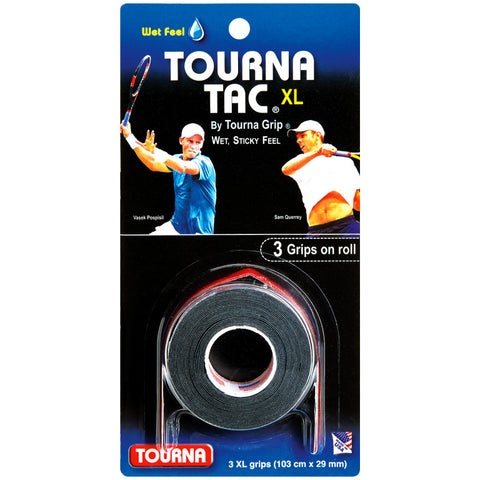 Tourna Tac XL Overgrips (Black)
