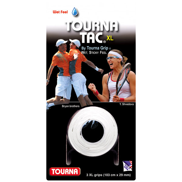 Tourna Tac XL Overgrips (White)