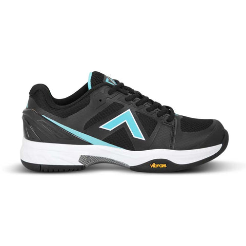 Tyrol Striker Pro V Women's Pickleball Shoe (Black/Teal) - RacquetGuys
