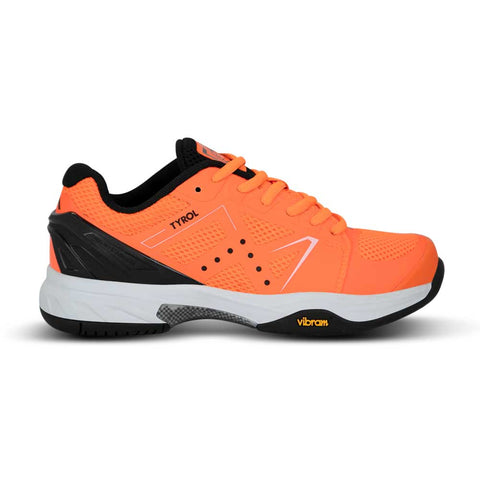 Tyrol Drive V Women's Pickleball Shoe (Orange/Black) - RacquetGuys