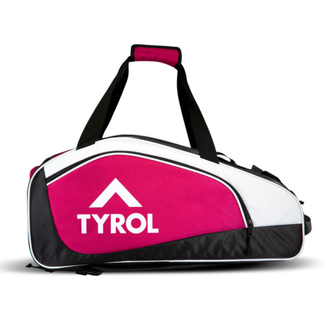 Tyrol Tournament Pickleball Bag (Pink/Black) - RacquetGuys